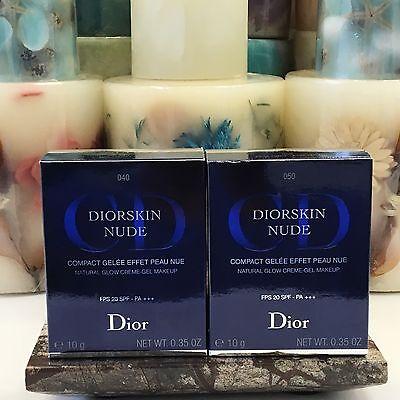 Dior Diorskin Nude Natural Glow Creme Gel Makeup (You Pick) BNIB .35 oz / 10 g Dior Natural Glow Face