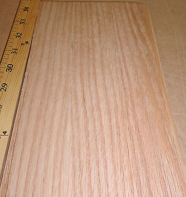"Red Birch figured wood veneer 6/"" x 96/"" with paper backing /""A/"" grade 1//40th/"""