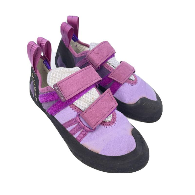 BUTORA Womens Endeavor Climbing Shoes (Tight Fit Version) Lavender - See Descrip