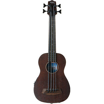 Kala Rumbler Acoustic Electric Fretless U-Bass Bass Ukulele UBASS-RMBL-FL for sale  Catonsville