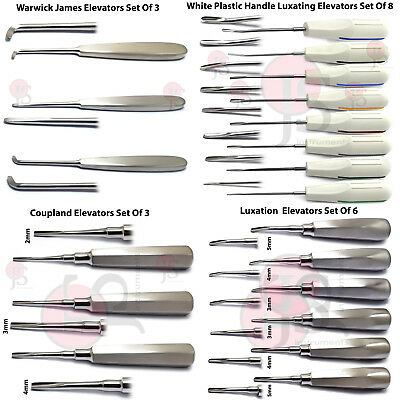 Dental Tooth Extracting Instruments Luxation Root Elevators Periotome Surgical