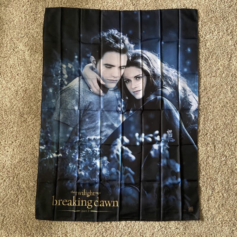 Twilight Breaking Dawn Part 2 Wall Flag Banner Fabric Poster Tapestry Art Print