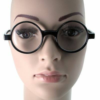 KIDS ages 6-12+ Harry Potter Costume Glasses Children Wizard Circle Nerd Round