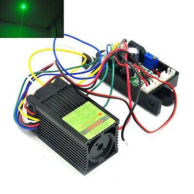 100mw 532nm Green Focus Dot Laser Diode Module Ttl Industriallab Led 12v