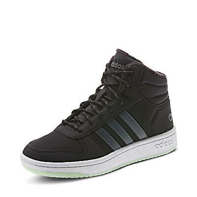 adidas Kinder Jungen Hoops Mid 2.0 Sneakerbooties Winterschuhe Schuhe schwarz
