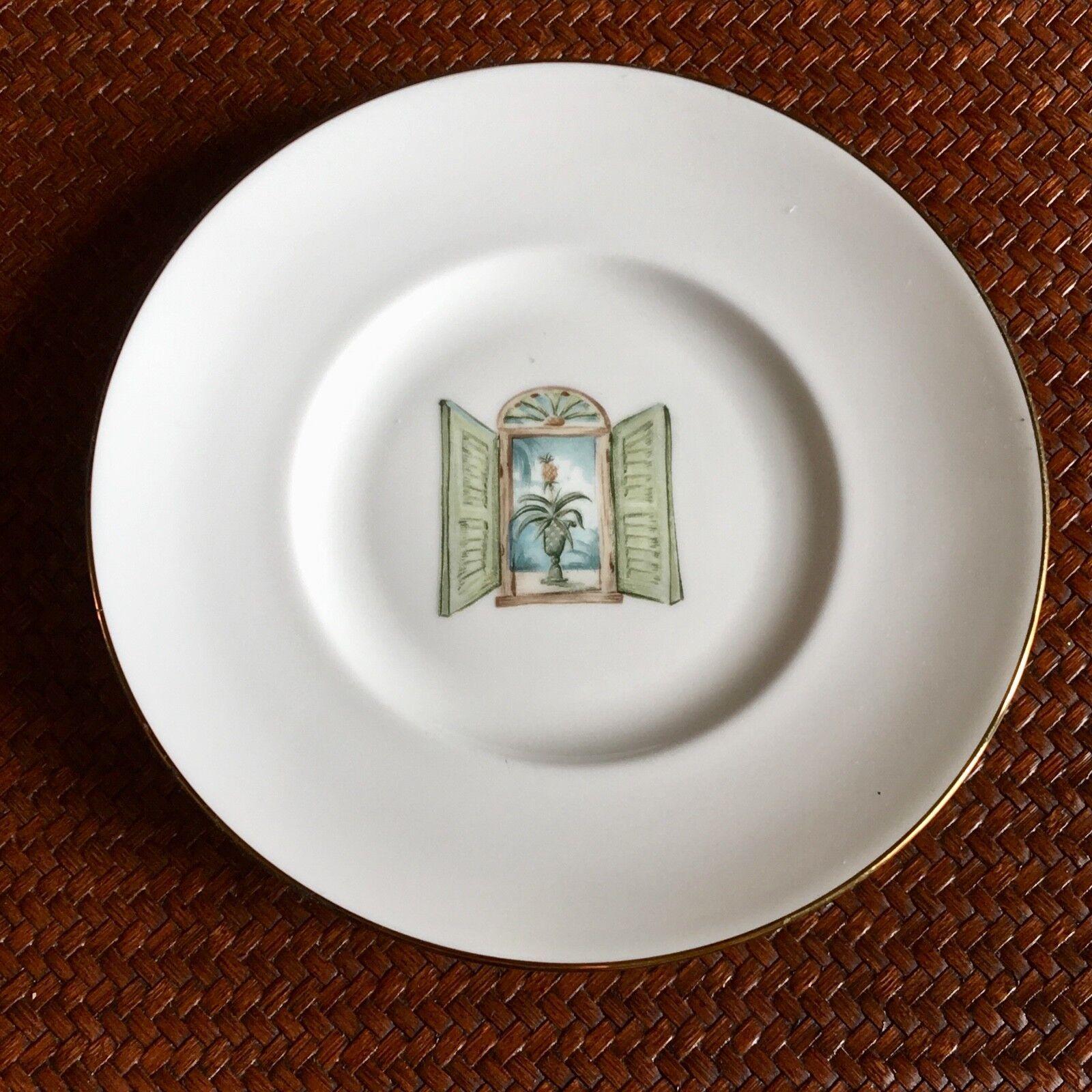 Купить Lenox British Colonial Collection - Unused Lenox British Colonial Collection Shutter 7.25 Salad Dessert Bread Plate
