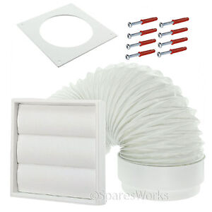 Venting Kit For White Knight Tumble Dryer External Wall Vent 4