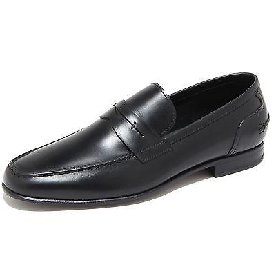 9690I mocassini uomo neri J. HOLBENS scarpe loafers shoes men