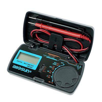 Pocket Mini Digital Multimeter Ac Dc Volt Dc Current Resistance Folding Tester