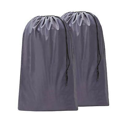 HOMEST 2 Pack Large Nylon Laundry Bag, Machine Washable Large Dirty Clothes O...