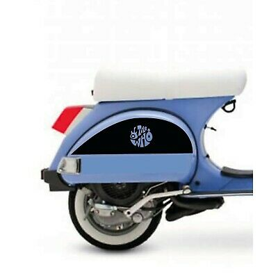 VESPA PX 125 150 200 T5 LML THE WHO SIDE STICKERS DECALS GRAPHICS