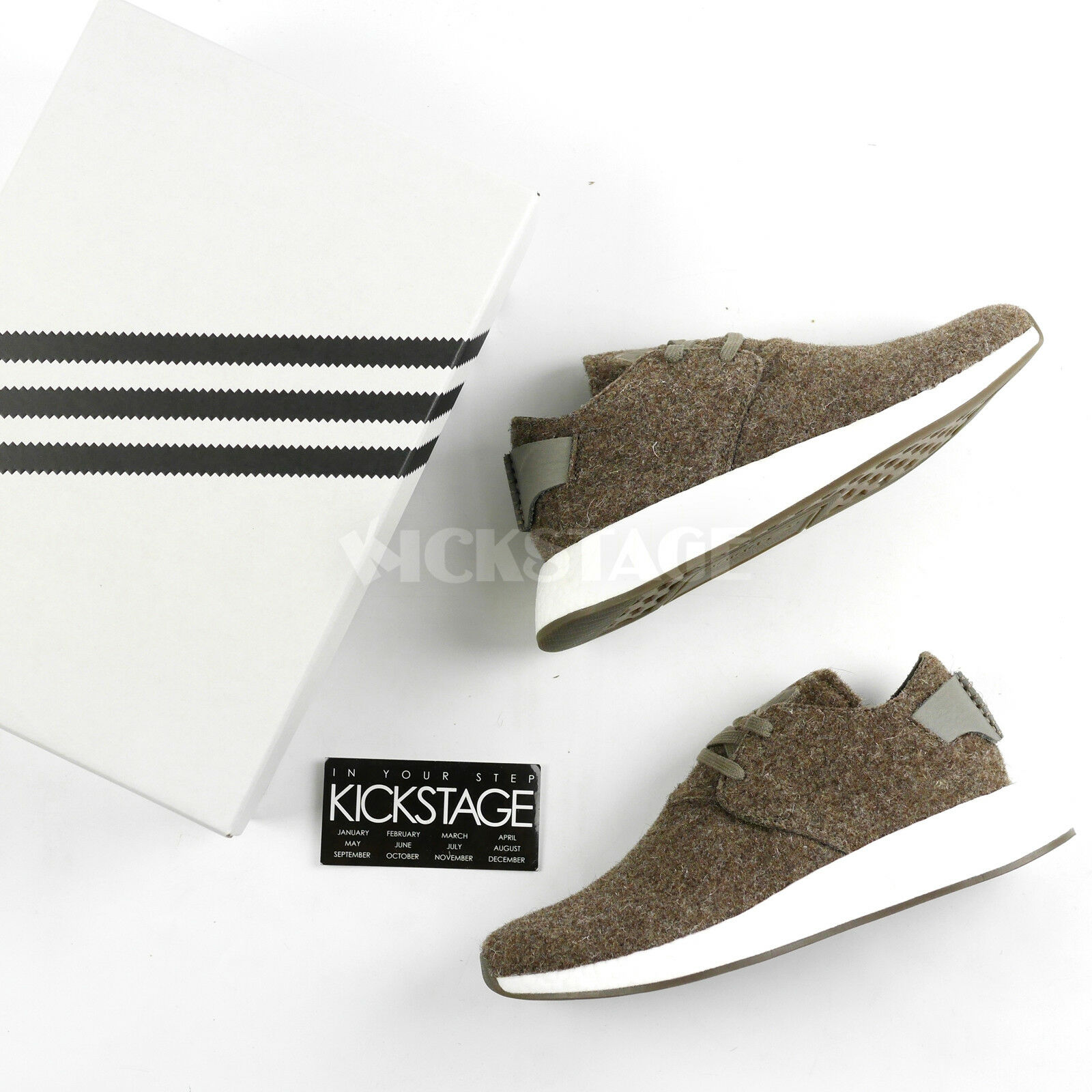 buy popular 32b45 41981 Adidas Originals by Wings + Horns WH NMD C2 Chukka Simple Brown Gum CG3781