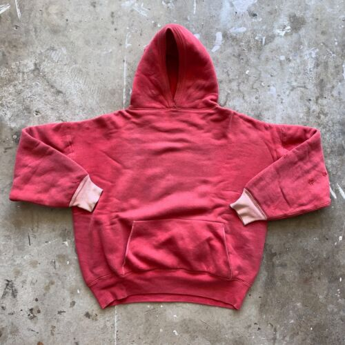 RARE 1950s - 1960s VINTAGE HOODED SWEATSHIRT SZ XL DOUBLE LAYER CHAMPION BRAND ?