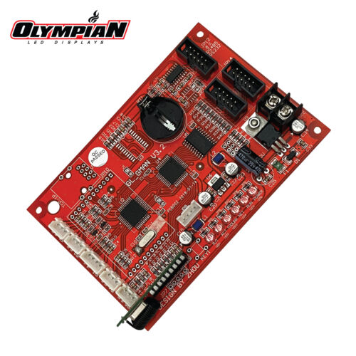 Gas Price Changer Control Board GL_GMAN V3.2 [OlympianLED.com]