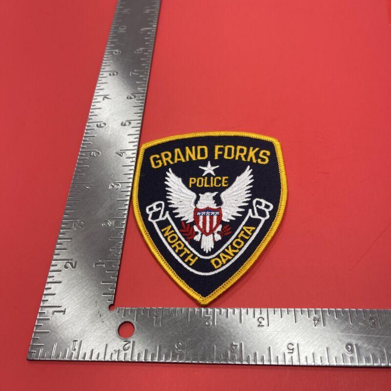 Vintage Grand Forks North Dakota Police Department Shoulder Patch ND