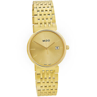 Mido Dorada Gold Dial Gold-plated Ladies Watch Quartz Swiss Made M1130.3.12 for sale  Shipping to India
