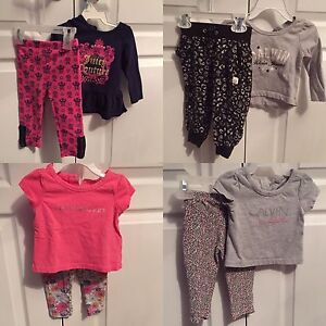 Toddler girls' designer two piece outfits