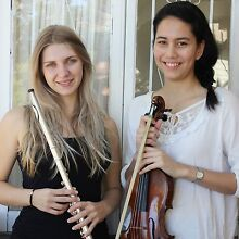 Live Music for Weddings Brisbane - Violin and Flute Duo Brisbane City Brisbane North West Preview