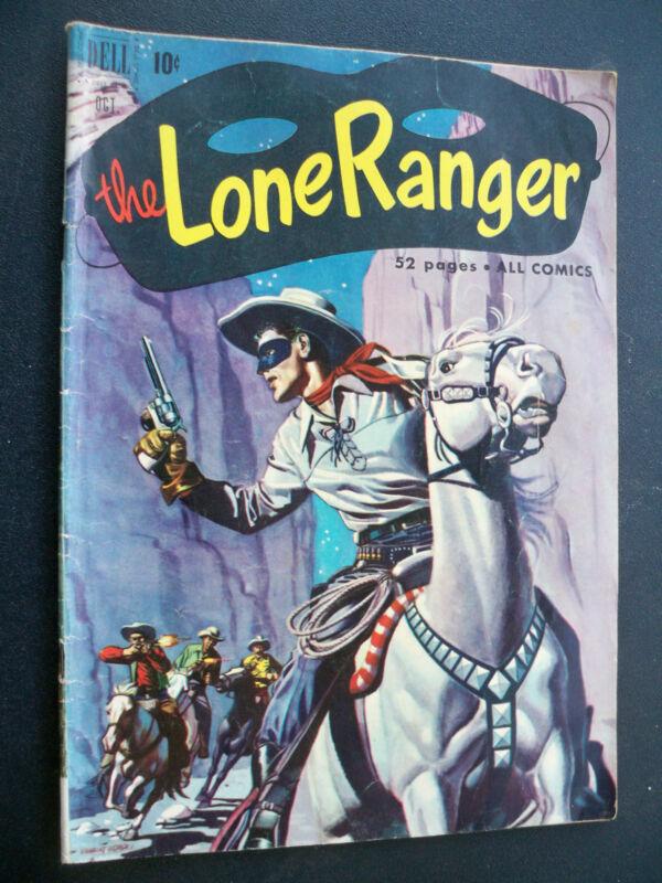 The Lone Ranger #40 Dell Comics October 1951