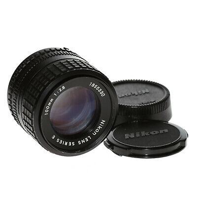Nikon Series E 100mm 1:2,8 Portrait Teleobjektiv mit manuellem Fokus