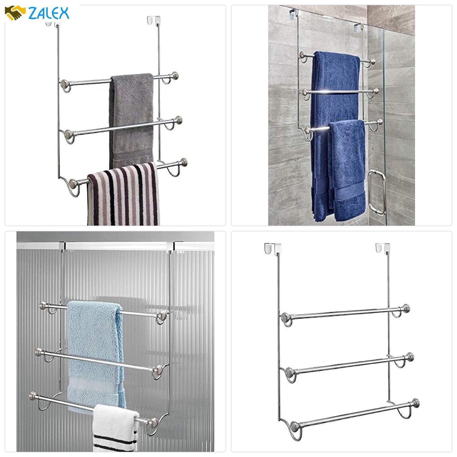 idesign york over the shower door towel
