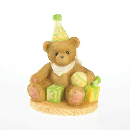 Cherished Teddies Through The Years Free to be Three! Age 3 4020574 SEALED