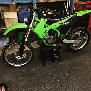 2000 kx 125 with 144 kit