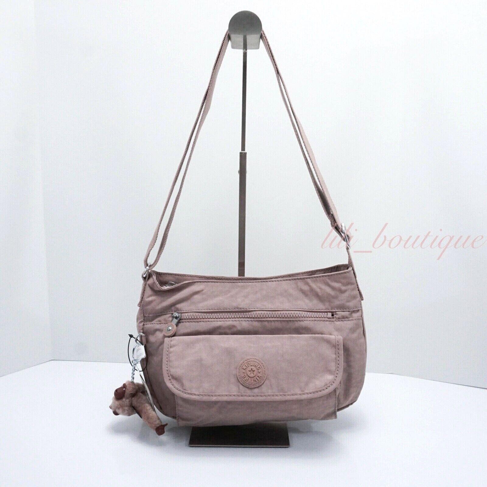 NWT Kipling HB3819 Syro Crossbody Shoulder Bag Purse Nylon A