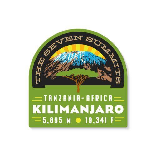 Mt. Kilimanjaro Seven Summits Decal Sticker