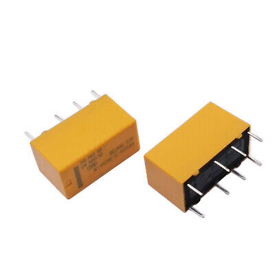 Us Stock 5pcs Dtdp Relay 5 Volt Coil Pcb Hrs Relay Hrs2h-s-dc5v 8 Pin