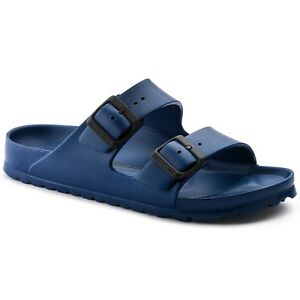 New Navy Birkenstock Unisex Rubber Waterproof Sandal size 11/42
