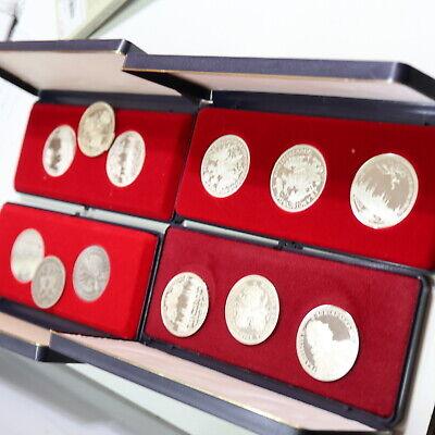 350 Gramm Feinsilber Nürnberg Medaillen, prägefrisch, im Etui online kaufen