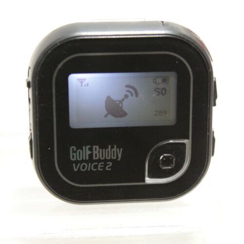 GolfBuddy Voice 2 Golf Rangefinder Bundle Good Condition