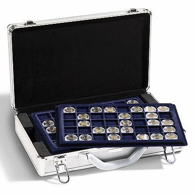 Leuchtturm Nr. 343105 Münzkoffer CARGO L6 für 240 2-Euro-Münzen inkl. 6 Tableaus