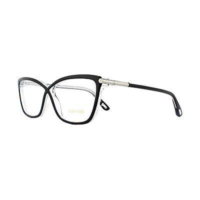 Tom Ford Glasses Frames FT5375 005 Black Crystal 53mm