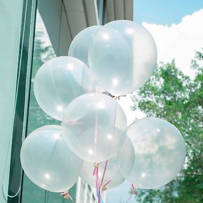 Bubble Clear Transparent Party Wedding 10/12/18/36 inch Small to Huge Balloon - Small Clear Balloons