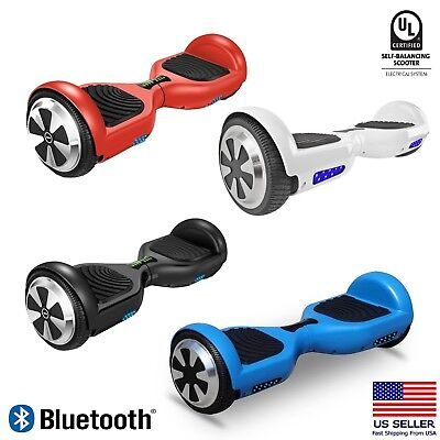 Bluetooth Hoverboard 6 5  Led Ul2272 Certified Self Balancing Electric Scooter