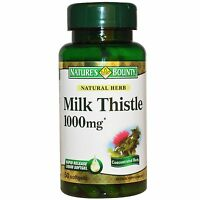 Silymarin Milk Thistle (1000mg) - 50 Softgels - Nature's Bounty - nature's bounty - ebay.co.uk