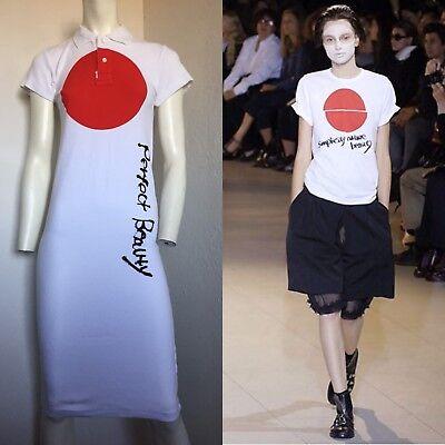 """Rare Vtg Comme des Garçons Cubism 2007 Cotton """"Perfect Beauty"""" Dress S"""