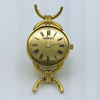 Vintage Gucci 6J Quartz 6000L 18K Gold Electroplated G10 Ladies Wrist Watch