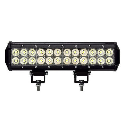 "13"" High Power 24 LED Stud Mount Light Bar Work Off Road SUV 4WD Truck Fits Jeep"