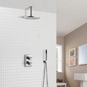 Miscelatore termostatico a scomparsa doccia soffitto tondo - Doccia a soffitto ...