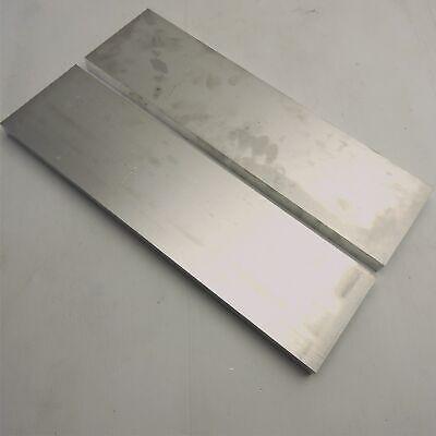 ".75/"" thick  3//4  Aluminum 6061 PLATE  5.375/"" x 14.75/"" Long QTY 2  sku 175991"