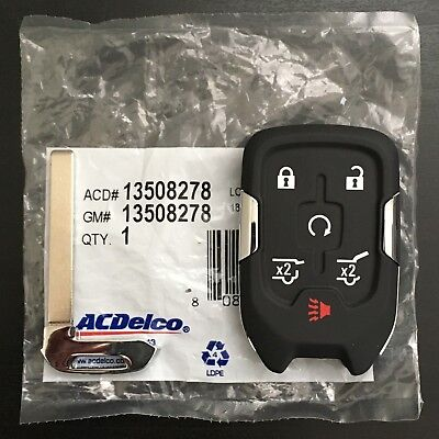 2015-2019 Chevrolet Tahoe Suburban Smart Keyless Remote Key Fob Entry GM GMC OEM