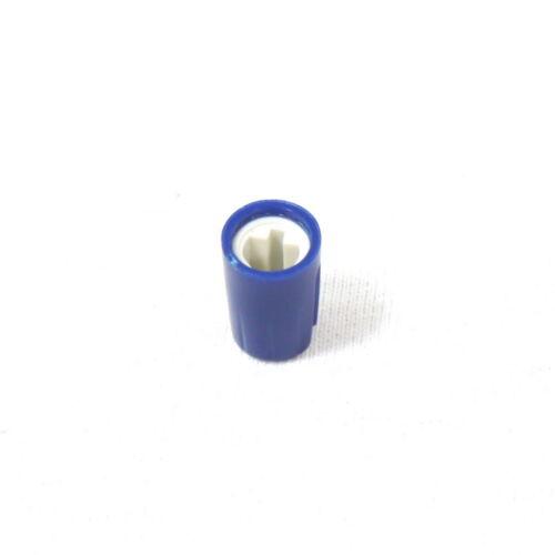 20x Blue Plastic Hi-Fi Control Knob Insert Type 10.5mmDx16.5mmH for 6mm D Shaft