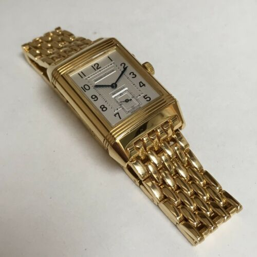 Jaeger Lecoultre Reverso Duo Face Night & Day 18k Gold