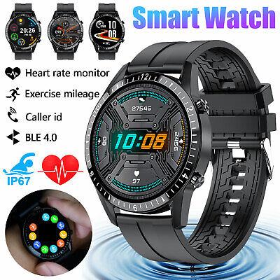 Waterproof Smart Watch Blood Pressure Oxygen Heart Rate Moni