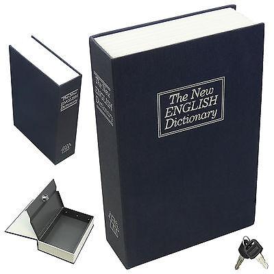 Dictionary Hollow Book Safe Diversion Secret Stash Booksafe Lock & Key Medium NA
