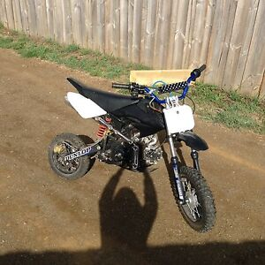 90cc pitbike Cygnet Huon Valley Preview