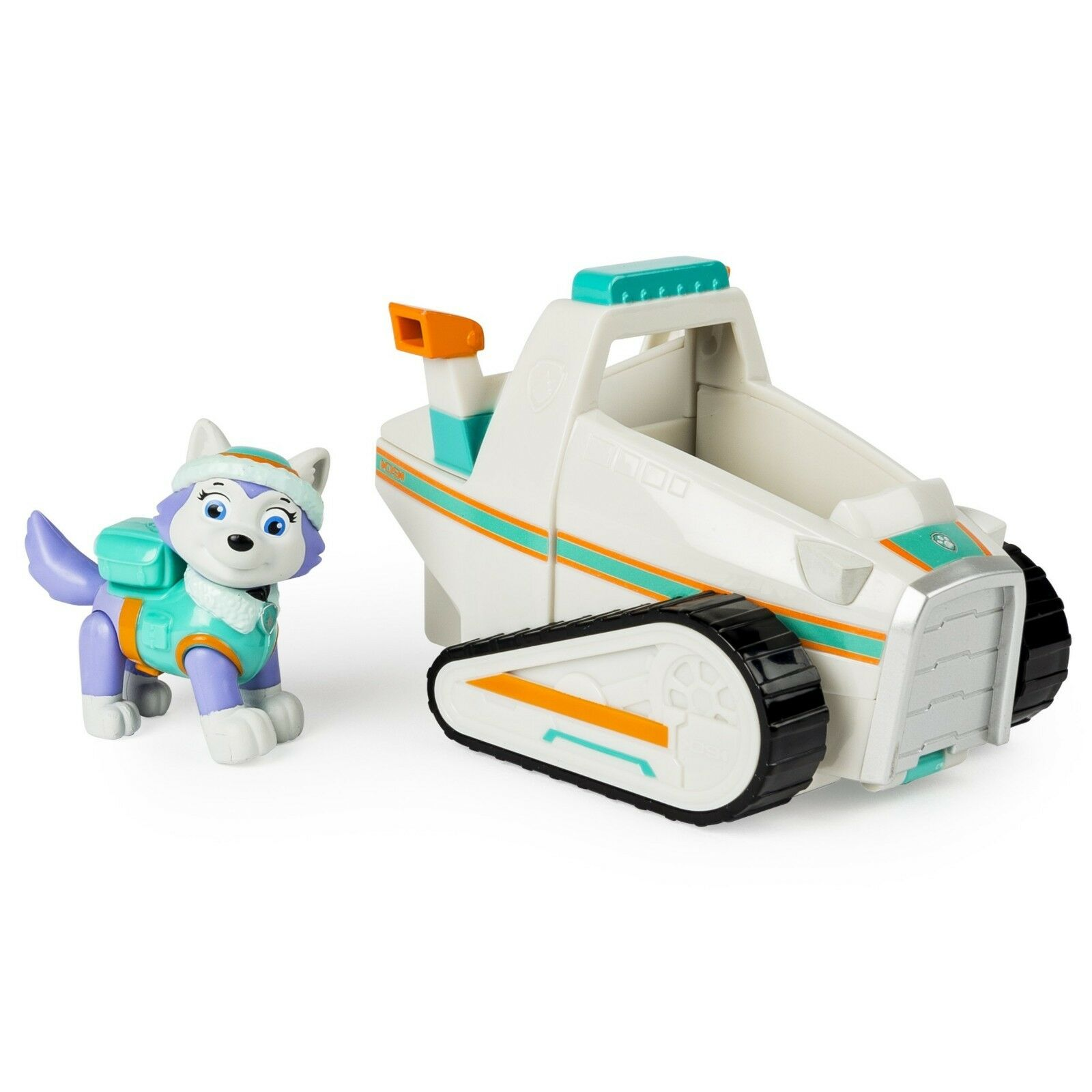 Paw Patrol Everest's Rescue Snowmobile,Vehicle and Figure Be